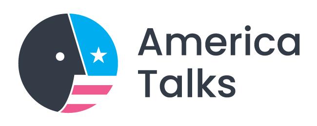 America Talks logo