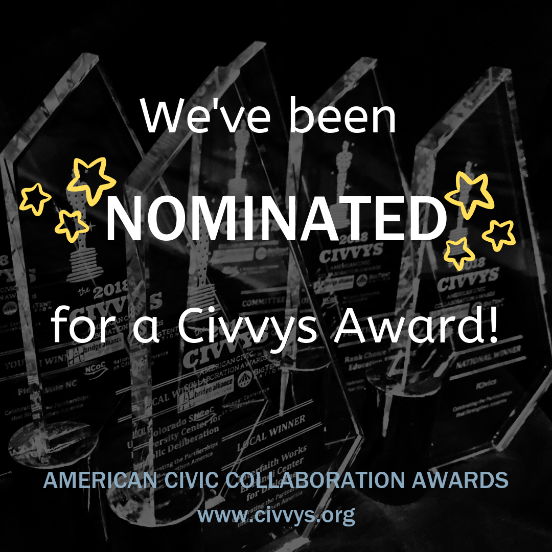 Civvys Award nomination