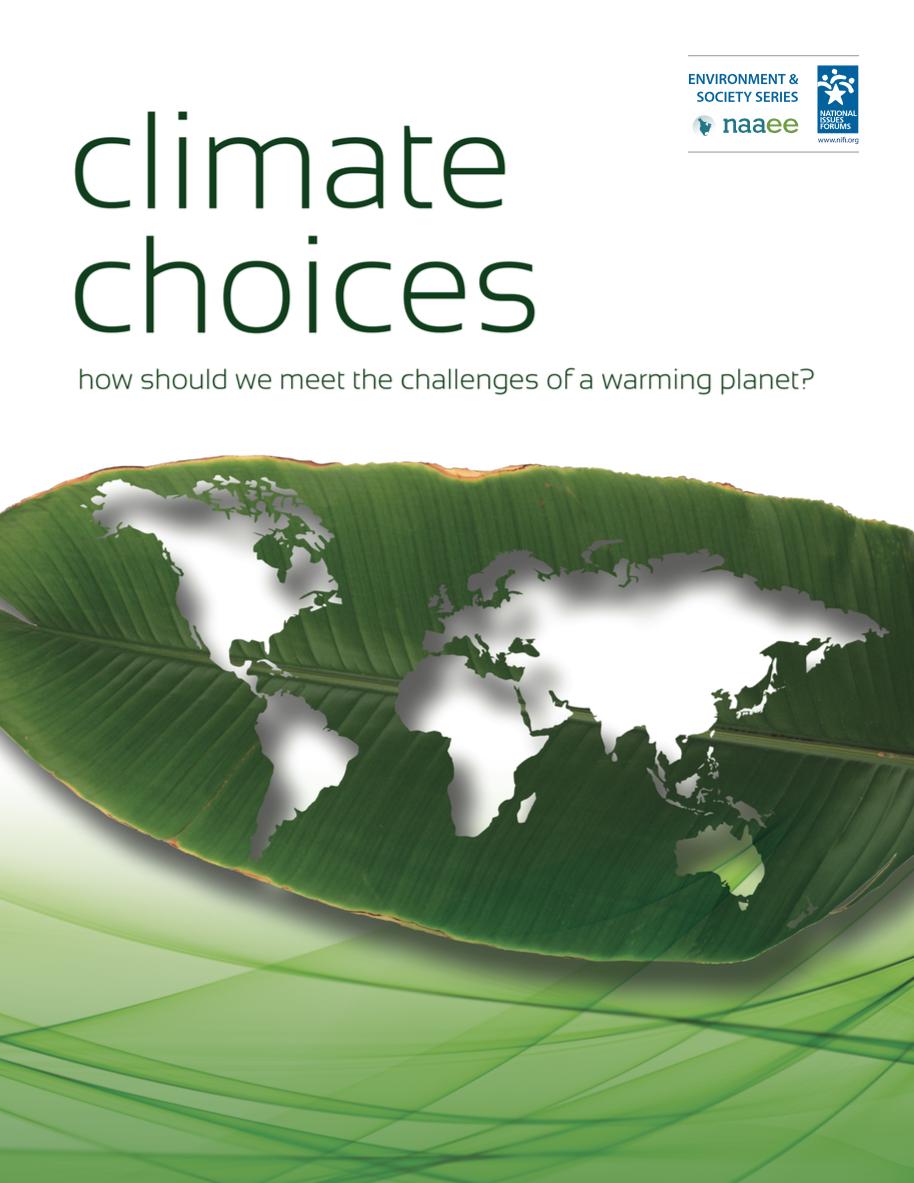 WEBINAR: Environmental Issues Forums & Higher Education | NIFI