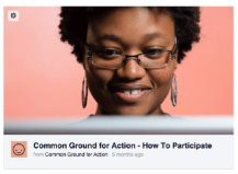 Common Ground for Action