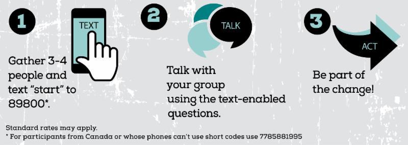 Text, Talk, Act