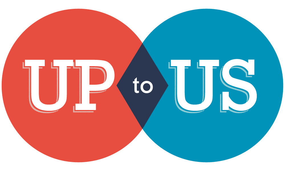 Up to Us logo