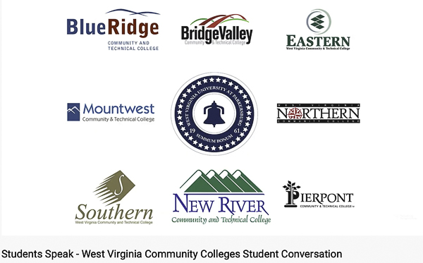 W. VA community college logos