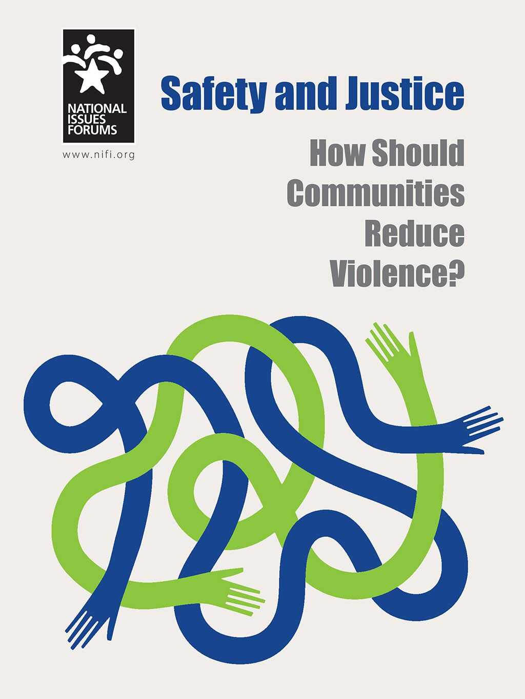 Safety and Justice issue guide cover